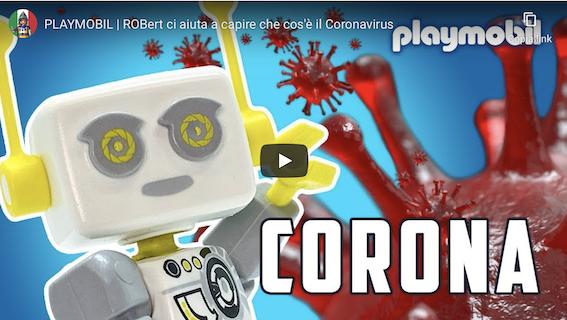 CORONAVIRUS: DA PLAYMOBIL UN VIDEO PER AIUTARE I BAMBINI A CAPIRE COSA STA SUCCEDENDO