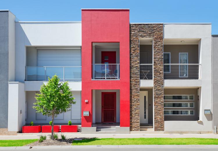 facciata colorata