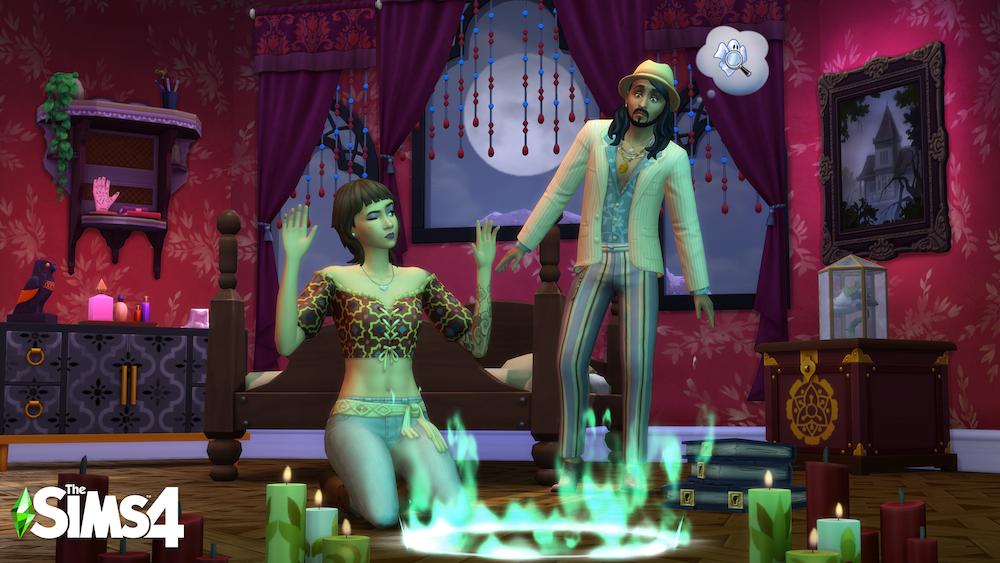 The Sims 4 diventa spettrale con il nuovissimo Paranormal Stuff Pack