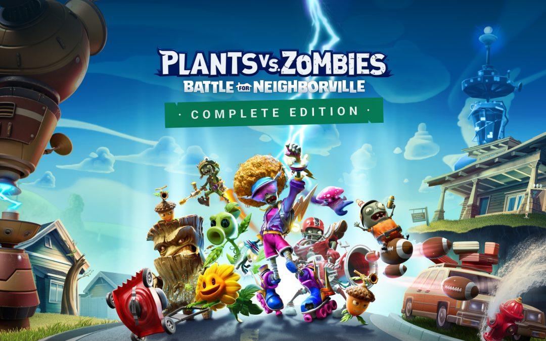 EA ANNUNCIA CHE PLANTS VS. ZOMBIES: BATTLE FOR NEIGHBORVILLE™ COMPLETE EDITION ARRIVERÁ SU NINTENDO SWITCH IL 19 MARZO